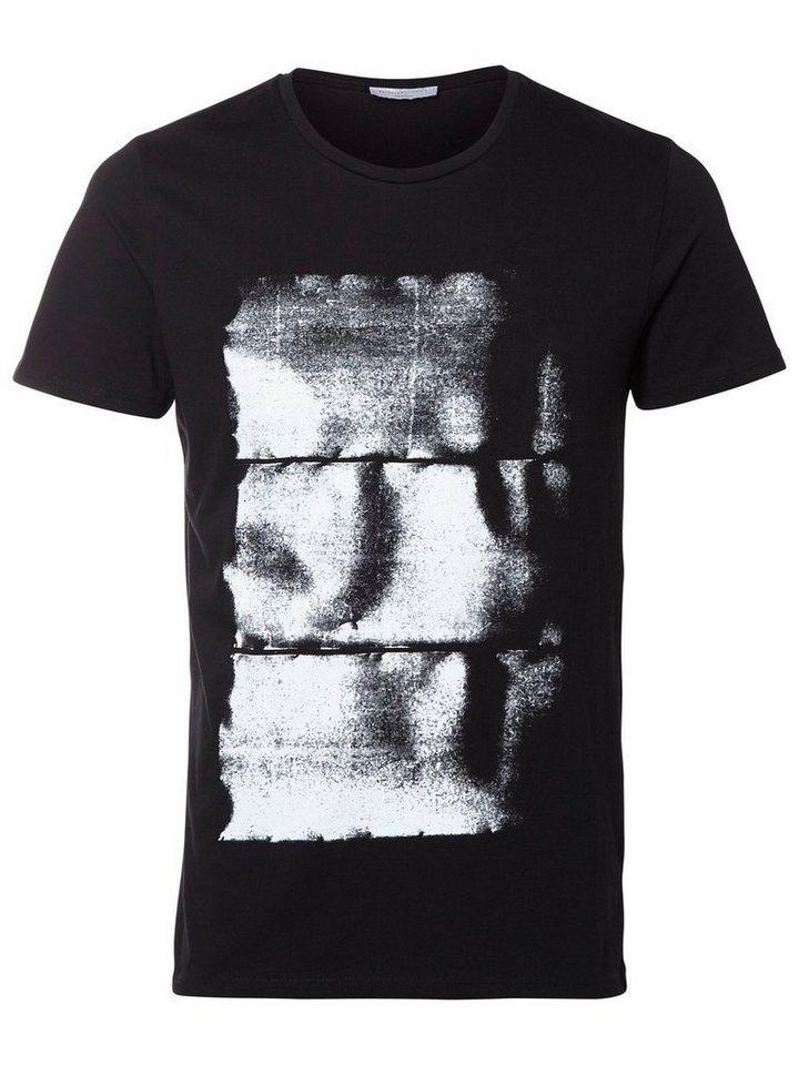 Selected Klassisches T-Shirt in Black