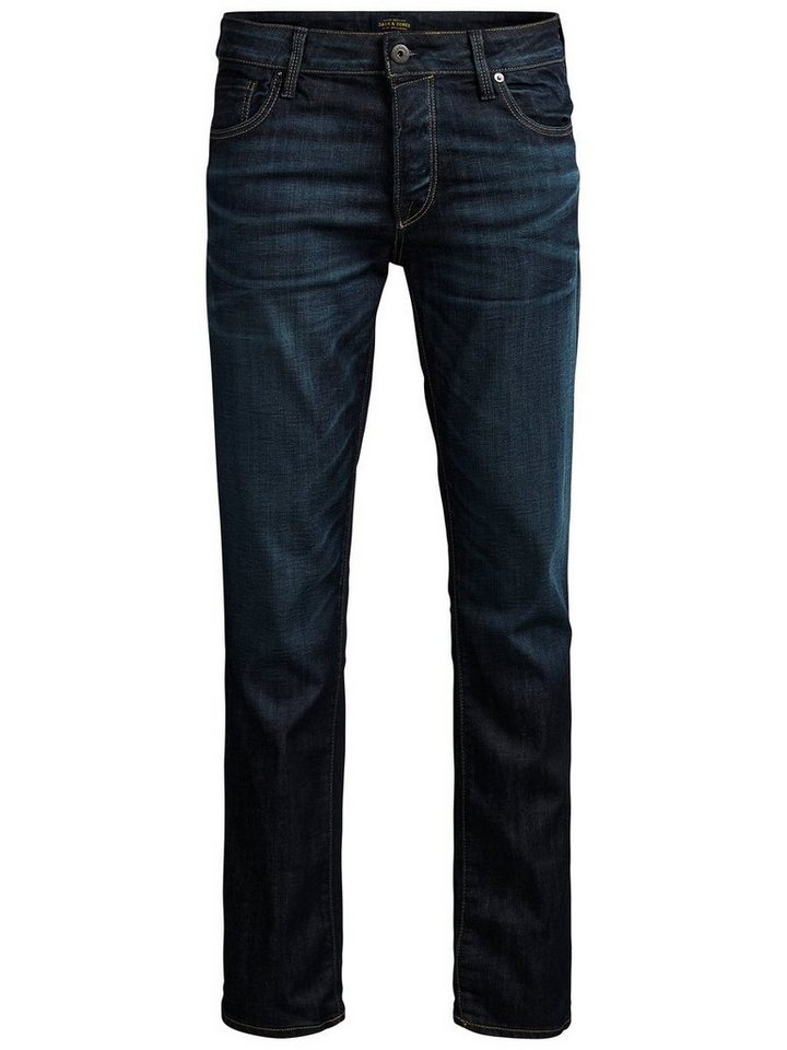 Jack & Jones Tim Icon BL 678 Slim Fit Jeans in Blue Denim