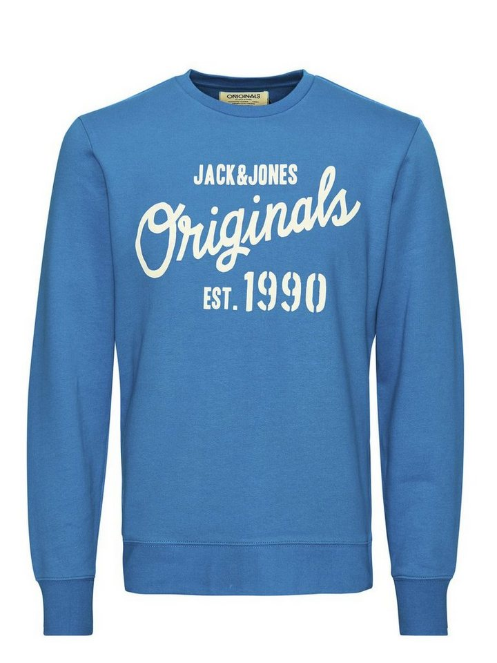 Jack & Jones Einfach zu tragender Sweatshirt in Imperial Blue