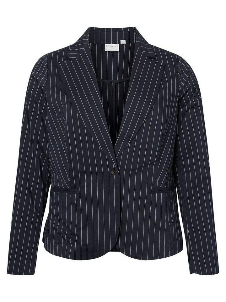 JUNAROSE Klassischer Blazer in Black Iris