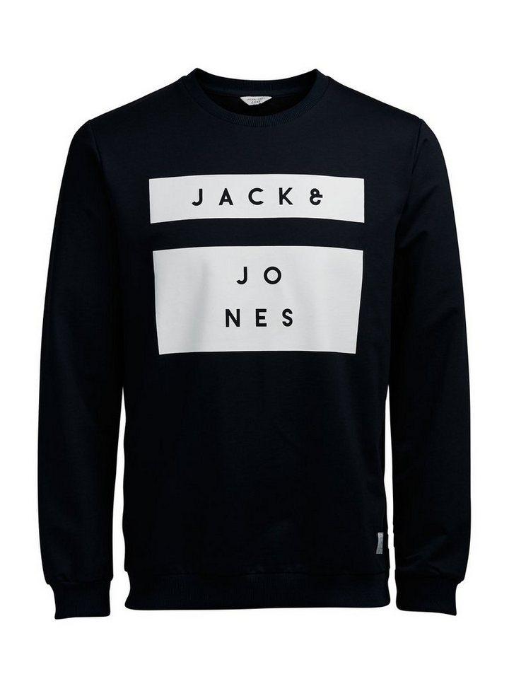 Jack & Jones Kontrastreiches Sweatshirt in Navy Blazer