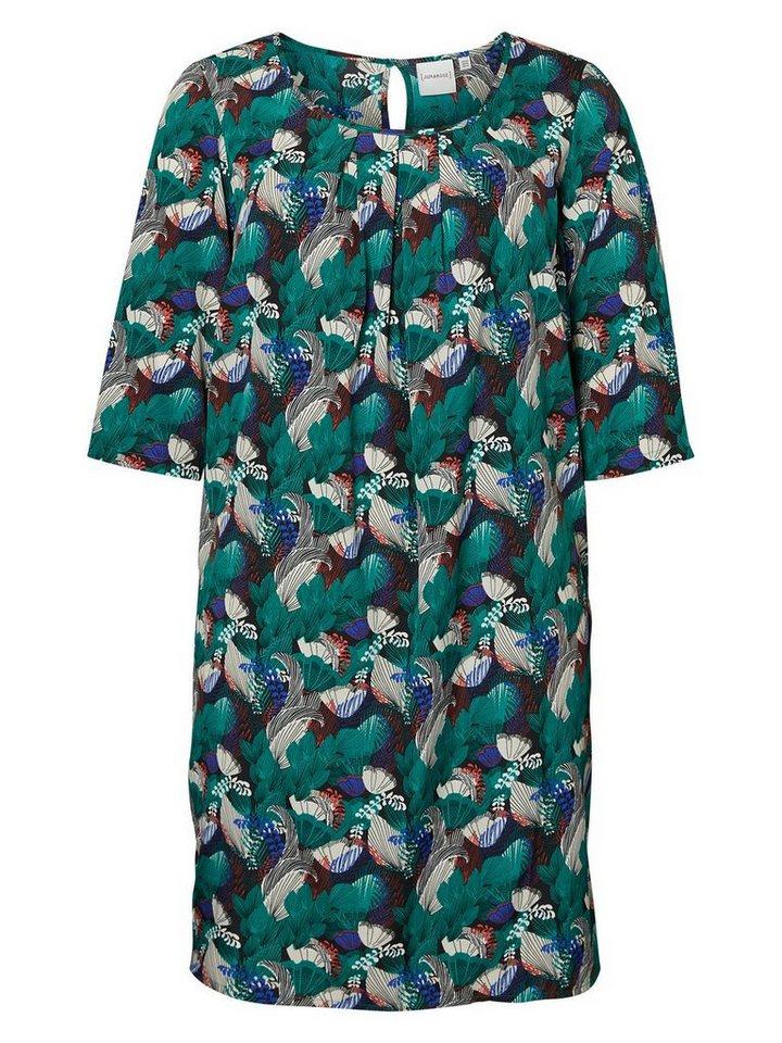 JUNAROSE 3/4-ärmeliges Kleid in Cadmium Green