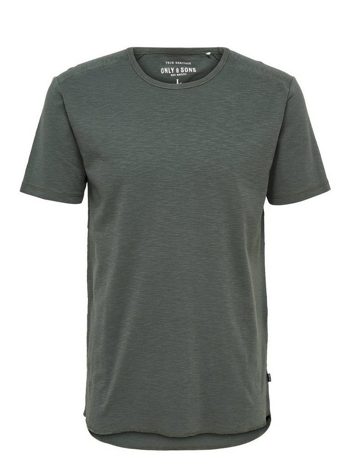 ONLY & SONS Einfarbiges T-Shirt in Urban Chic