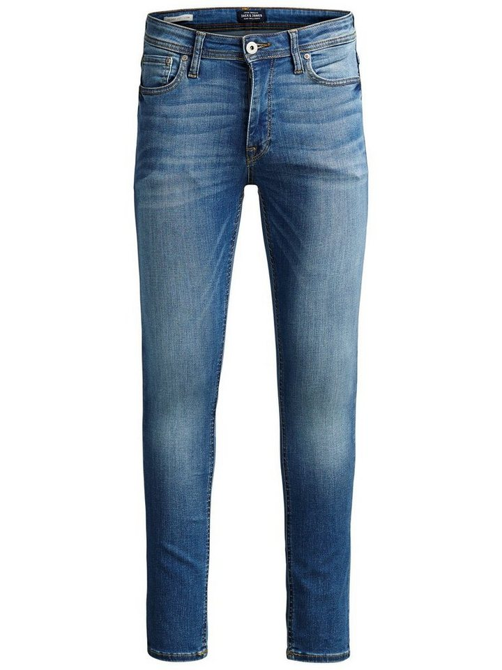 Jack & Jones Liam Original Am 015 Skinny Fit Jeans in Blue Denim