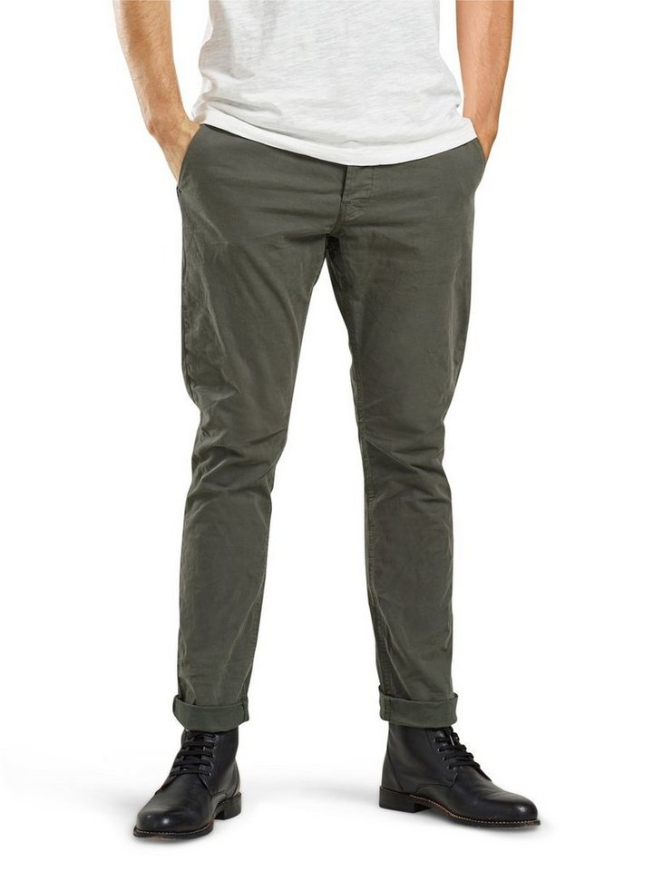 ONLY & SONS Einfarbige Chino in Olive Night