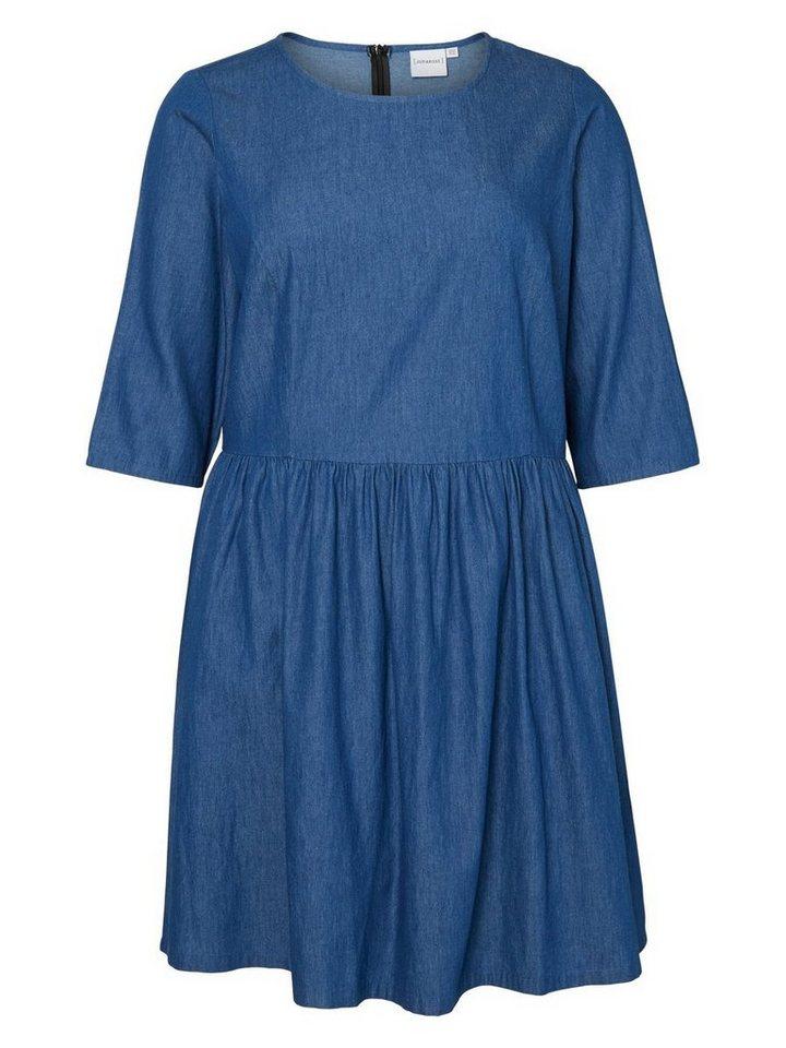 JUNAROSE 3/4-ärmeliges Kleid in Black Iris
