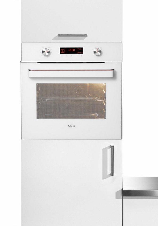 Amica Einbaubackofen EB 63522 W, A, Ambientlight in weiß