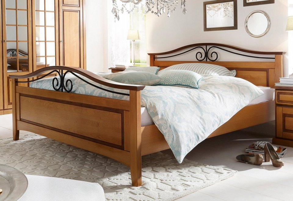Bett, Premium collection by Home affaire, »Carlo« in honig