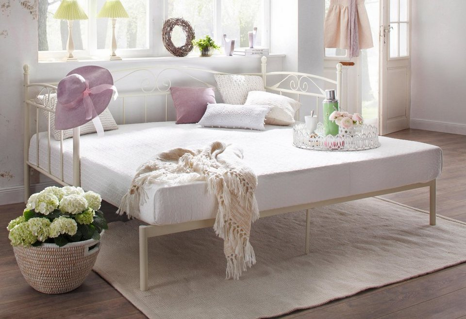 home affaire daybett birgit mit zweiter ausziehbarer liegefl che online kaufen otto. Black Bedroom Furniture Sets. Home Design Ideas