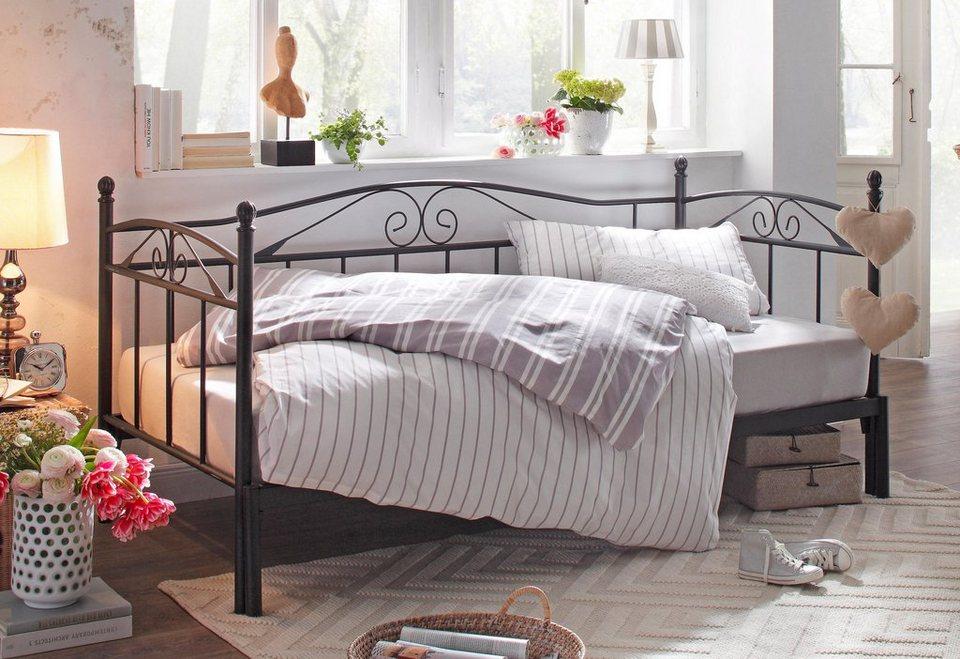 home affaire daybett birgit mit zweiter ausziehbarer liegefl che online kaufen otto. Black Bedroom Furniture Sets. Home Design Ideas