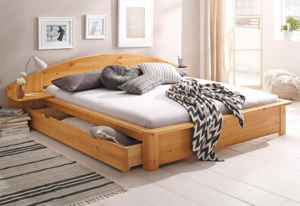 home affaire bett acros online kaufen otto. Black Bedroom Furniture Sets. Home Design Ideas