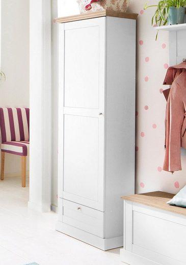 Home affaire Garderobenschrank »Binz« mit einer schönen Holzoptik, mit vielen Stauraummöglichkeiten, Höhe 180 cm