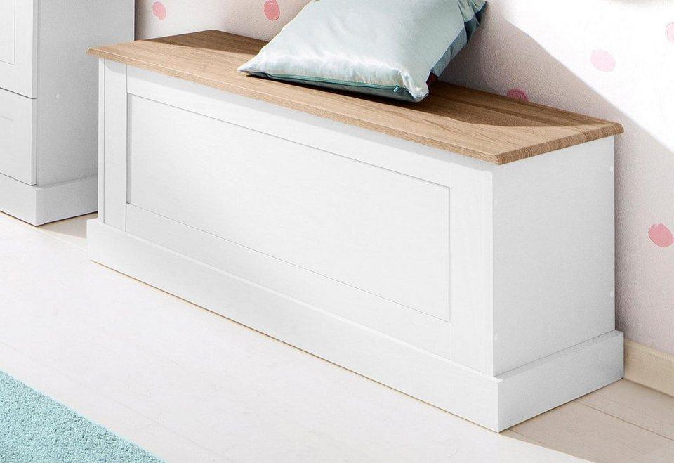 Home affaire Sitzbank »Binz«, in zwei unterschiedlichen Farbvarianten, mit  Stauraum unter der Öffnungsklappe, Breite 90 cm online kaufen | OTTO