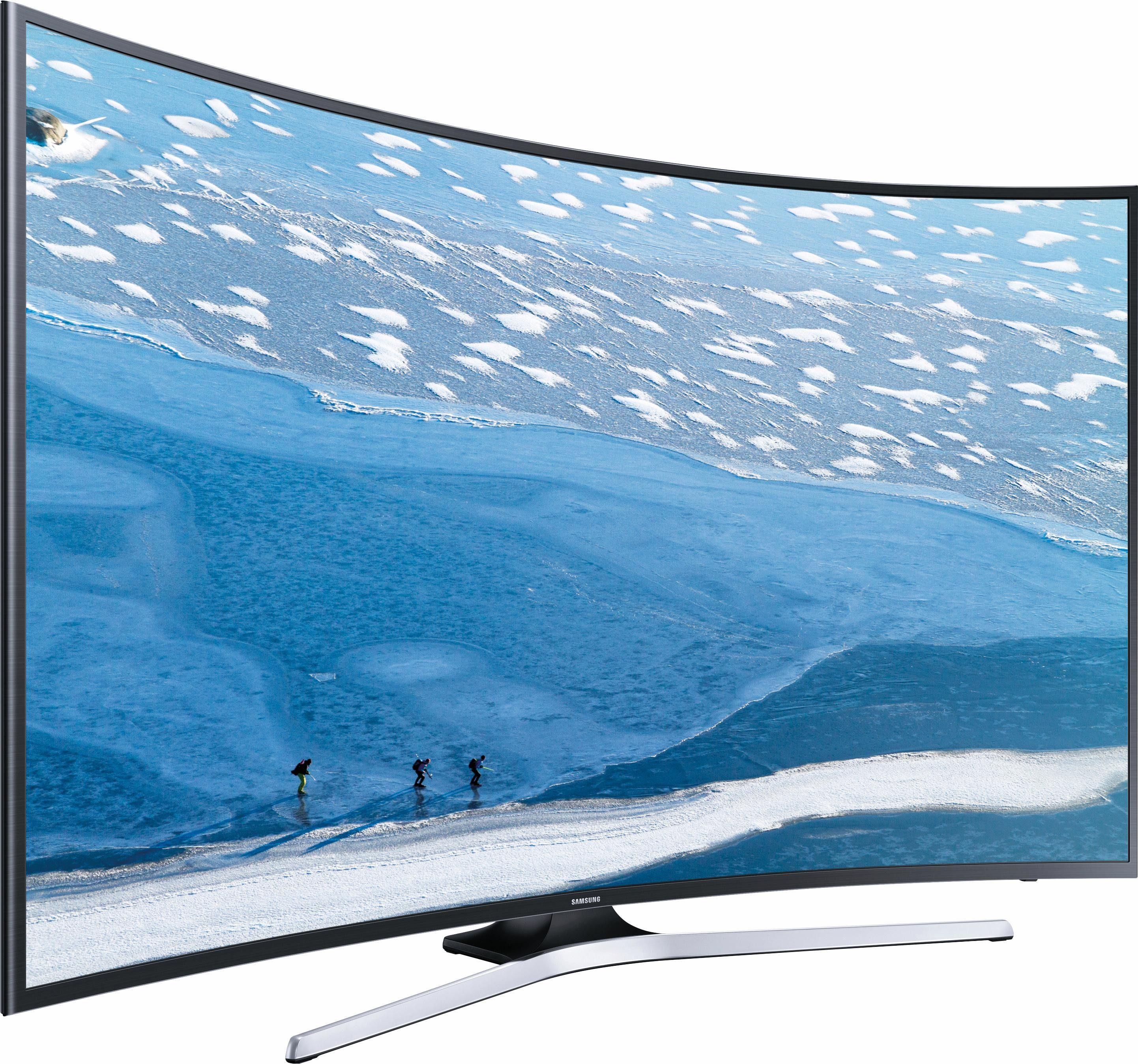 Samsung UE40KU6179UXZG, Curved-LED-Fernseher, 101 cm (40 Zoll), 2160p (4K Ultra HD), Smart-TV
