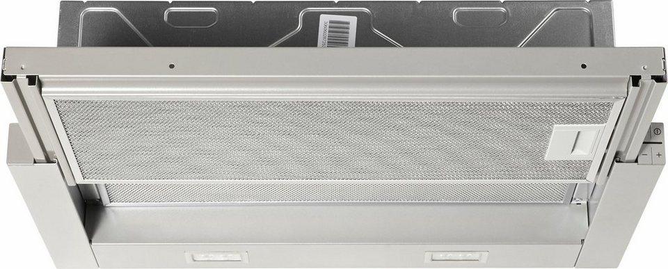 Bosch Flachschirmhaube DFL064A50 in grau-metallic