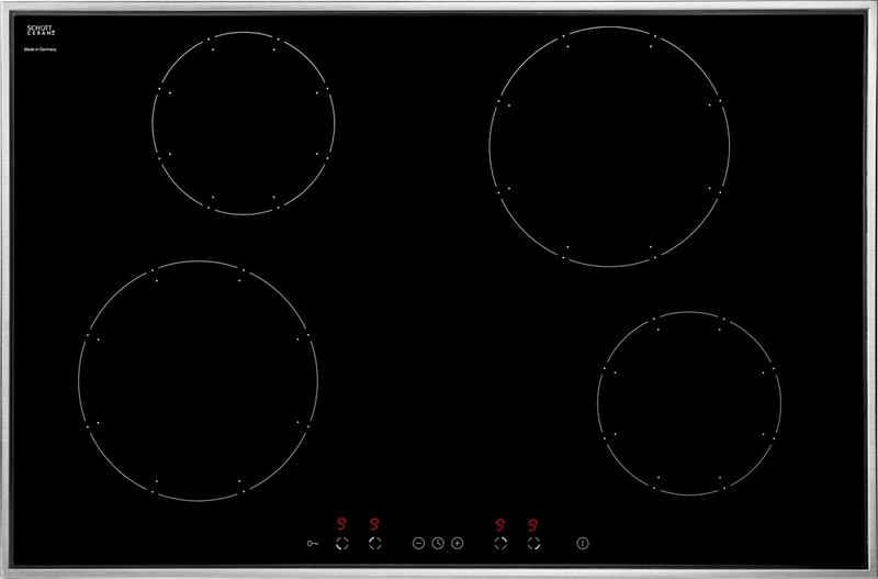 Amica Induktions-Kochfeld von SCHOTT CERAN® KMI 13317 E, Topferkennungsfunktion