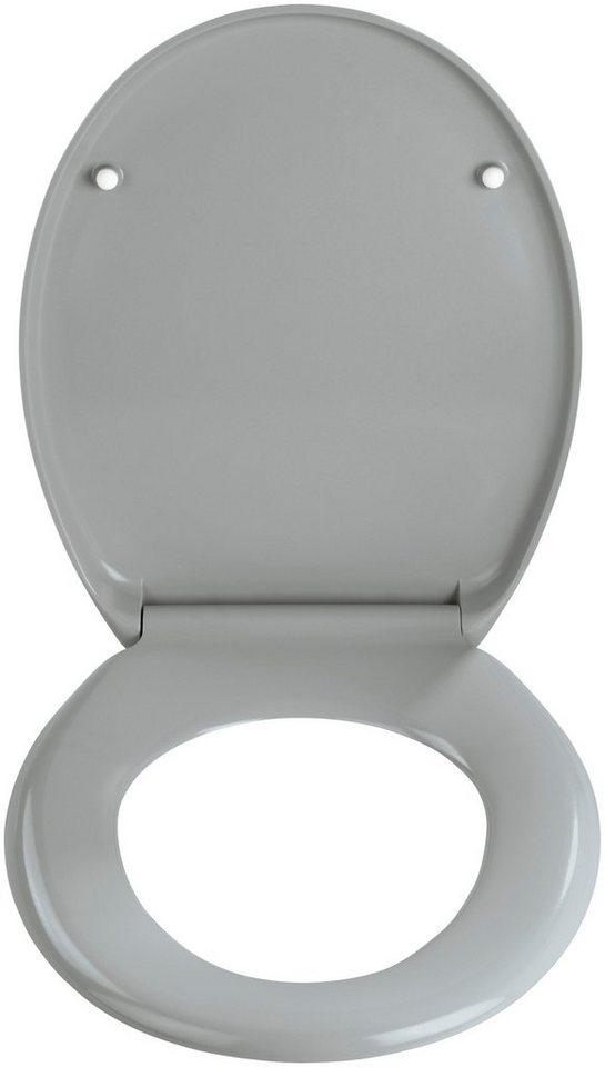 WC-Sitz »Ottana«, Mit Absenkautomatik in hellgrau
