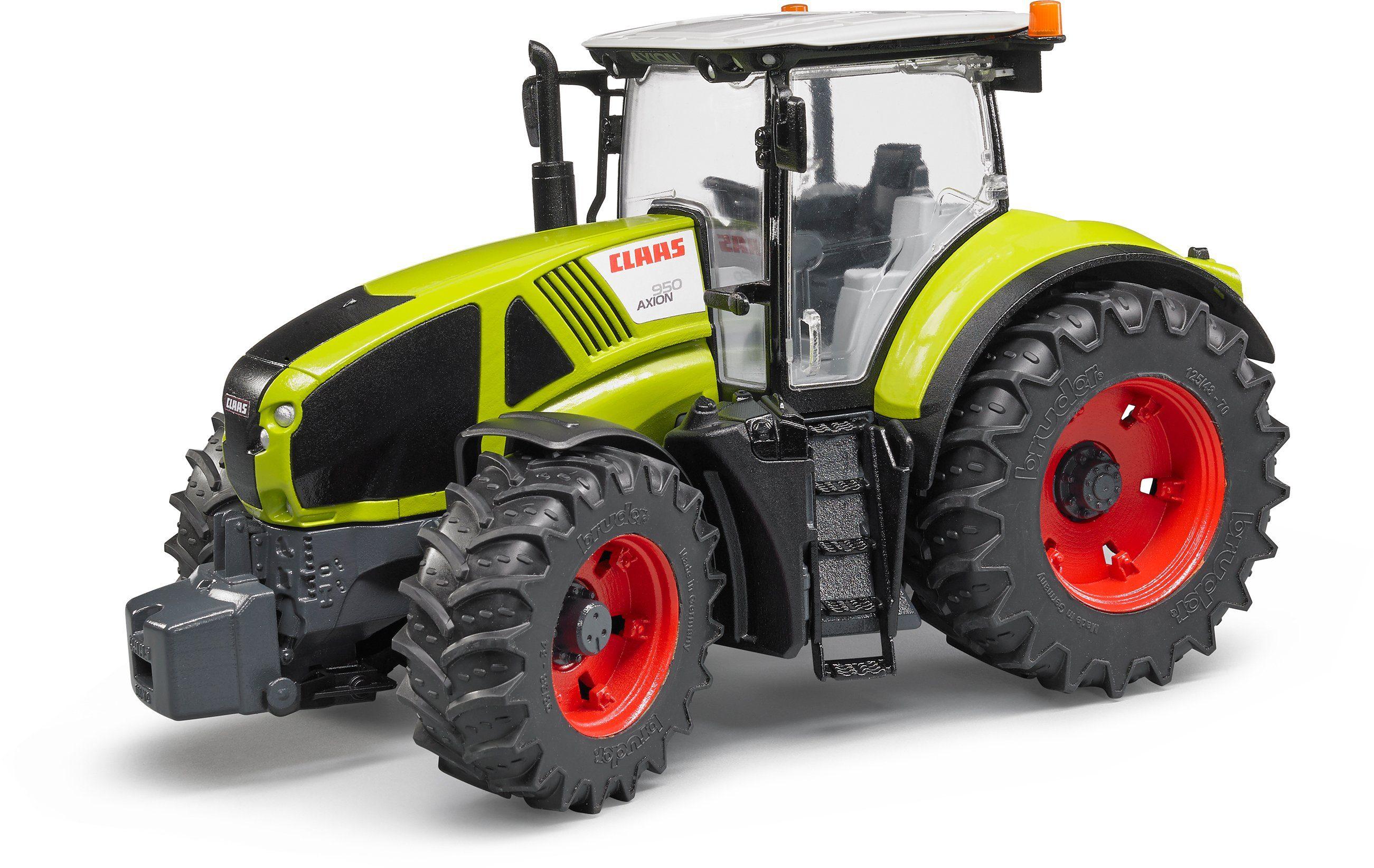 bruder® Spieltraktor mit höhenverstellbarer Heckkupplung 03012, »Claas Axion 950, Maßstab 1:16«