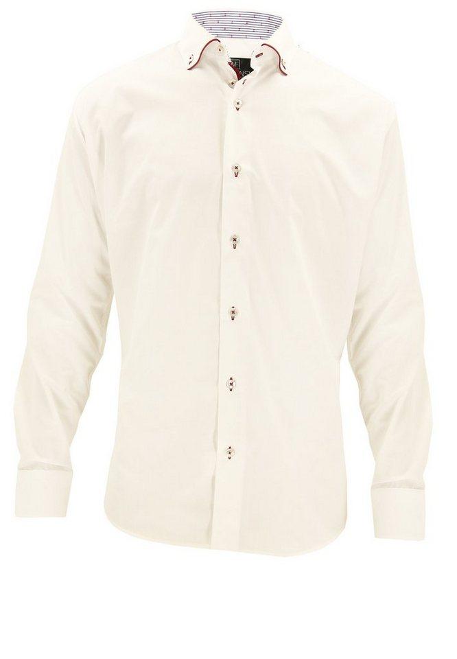 melvinsi fashion Oberhemd in Weiß
