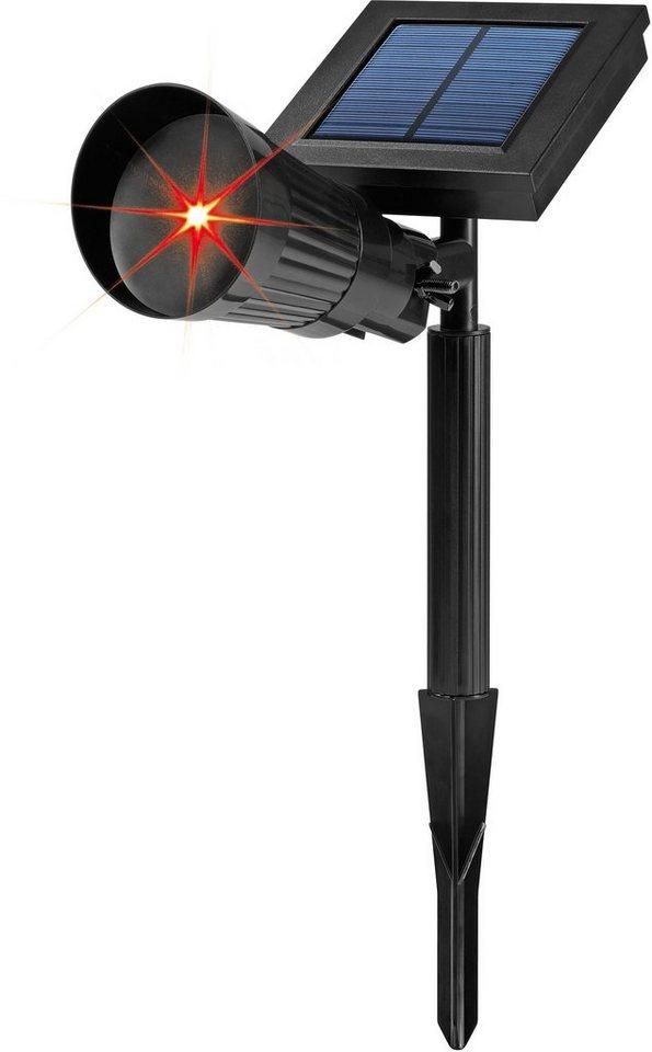Solar-Laserstrahler, »EASYmaxx« in schwarz