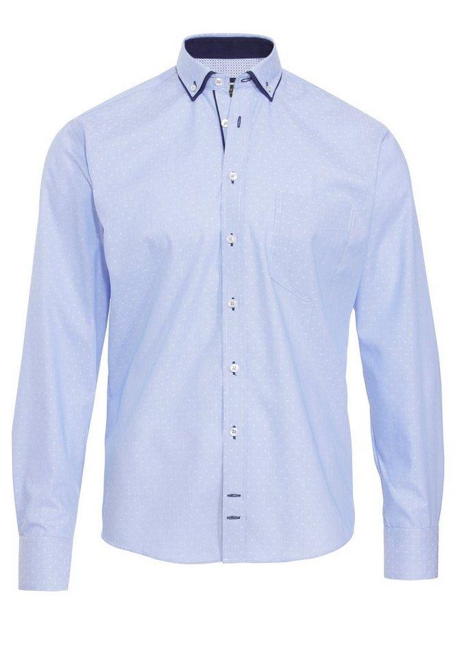 Hatico Business Hemd in blau