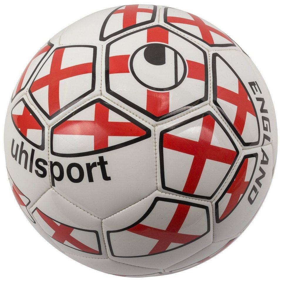 UHLSPORT England Fußball in weiß / rot / schwarz