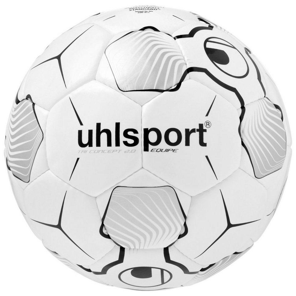 UHLSPORT Tri Concept 2.0 Equipe Fußball in weiß / schwarz