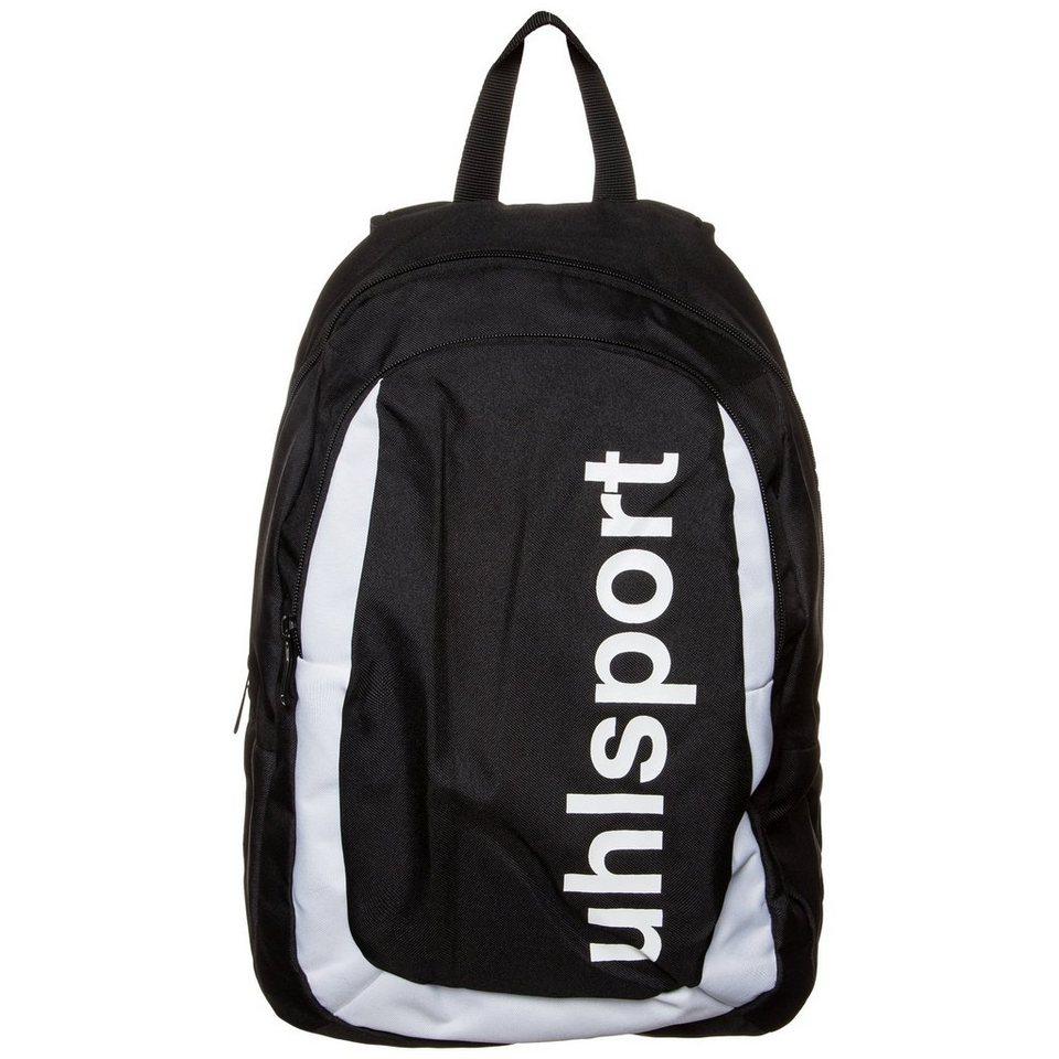 UHLSPORT Rucksack in schwarz / weiß
