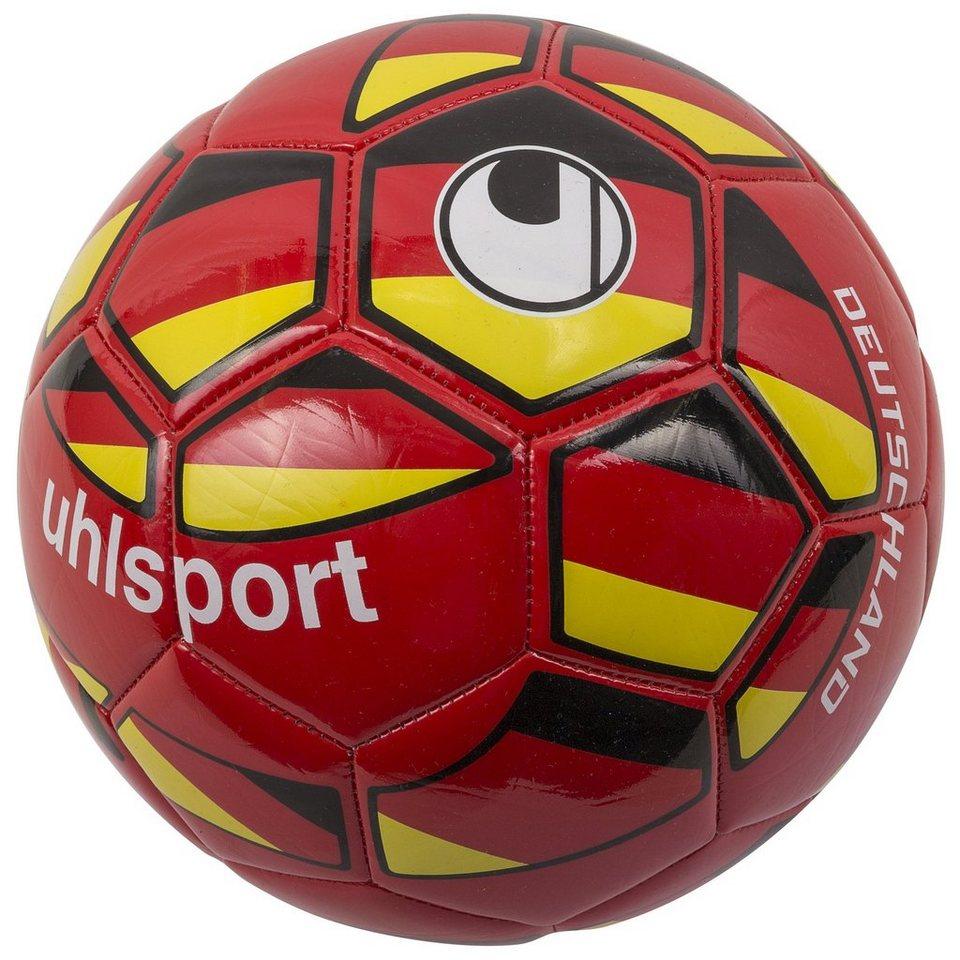 UHLSPORT Deutschland Fußball in rot / gelb / weiß