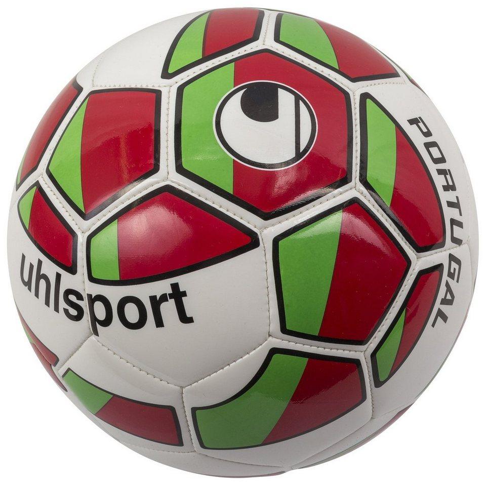 UHLSPORT Portugal Fußball in weiß / grün / rot