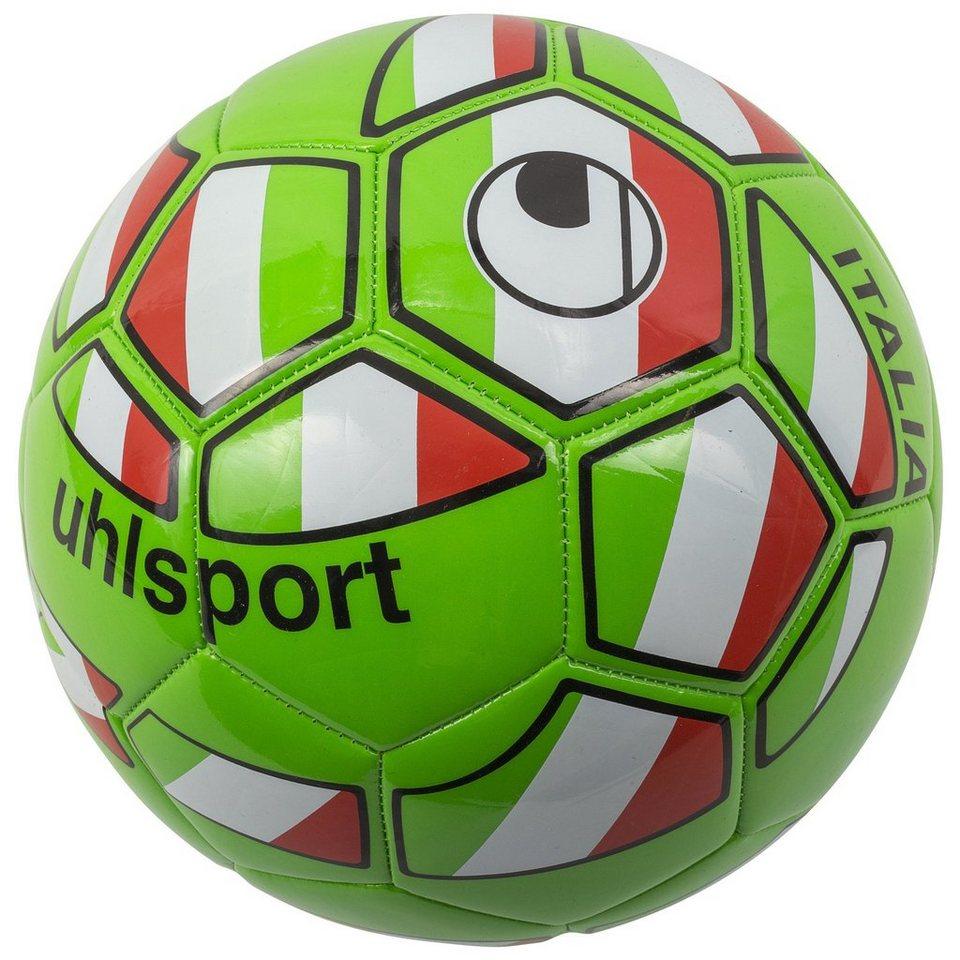 UHLSPORT Italien Fußball in grün / rot / schwarz