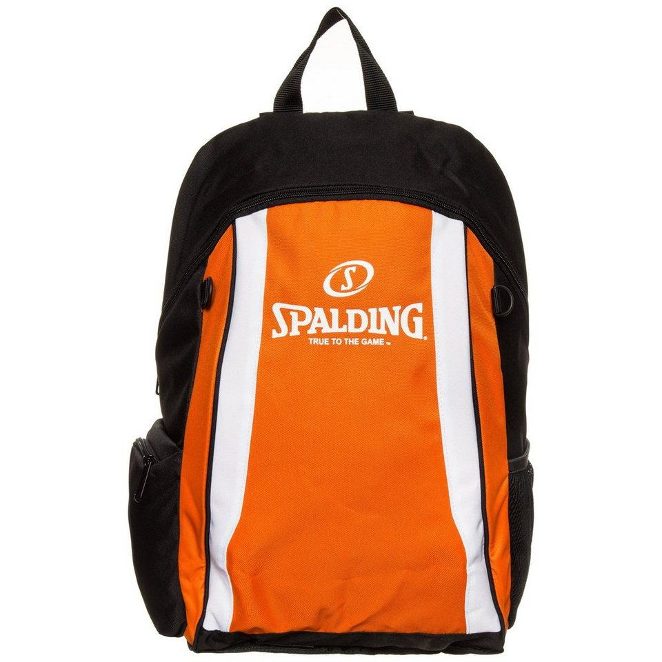 SPALDING Rucksack in orange / schwarz
