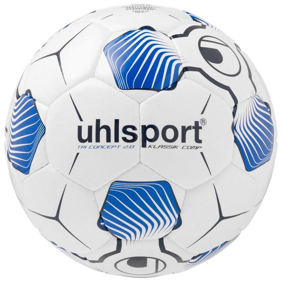 UHLSPORT Tri Concept 2.0 Klassik Comp Fußball in weiß / marine