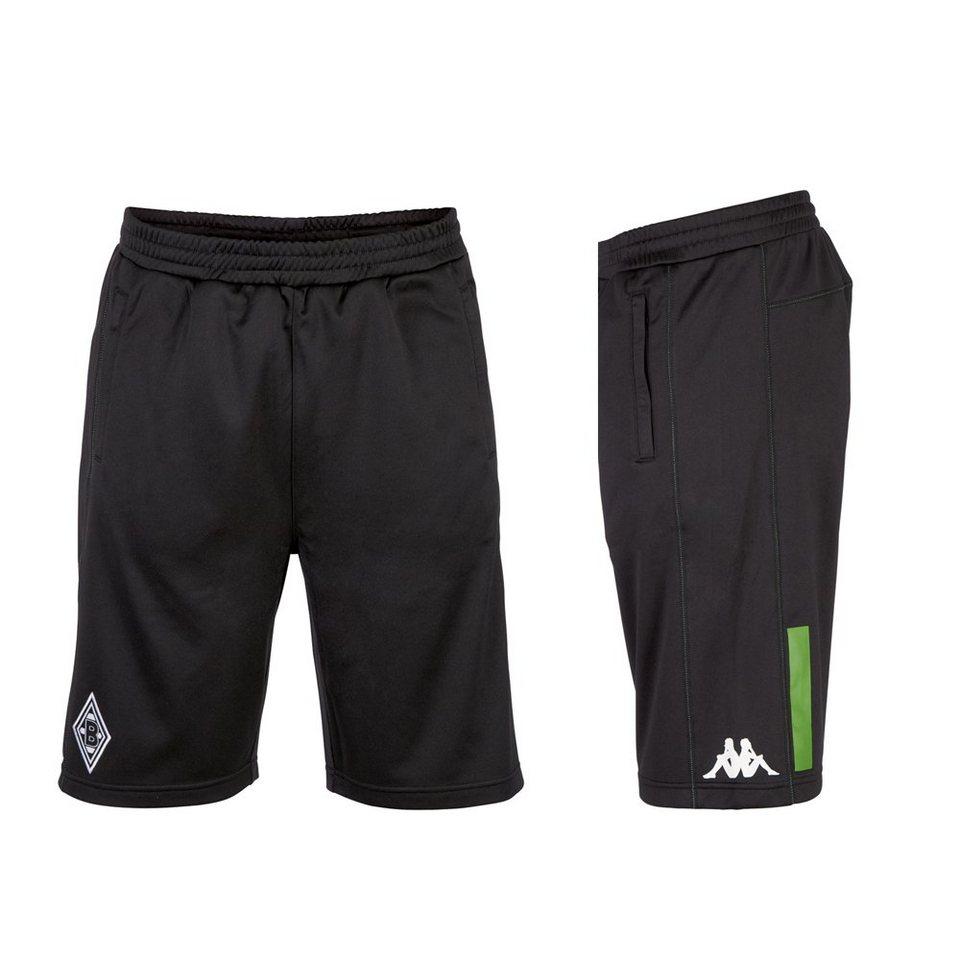 KAPPA Trainingsshorts »Borussia Mönchengladbach Trainingsshorts 16-17« in black