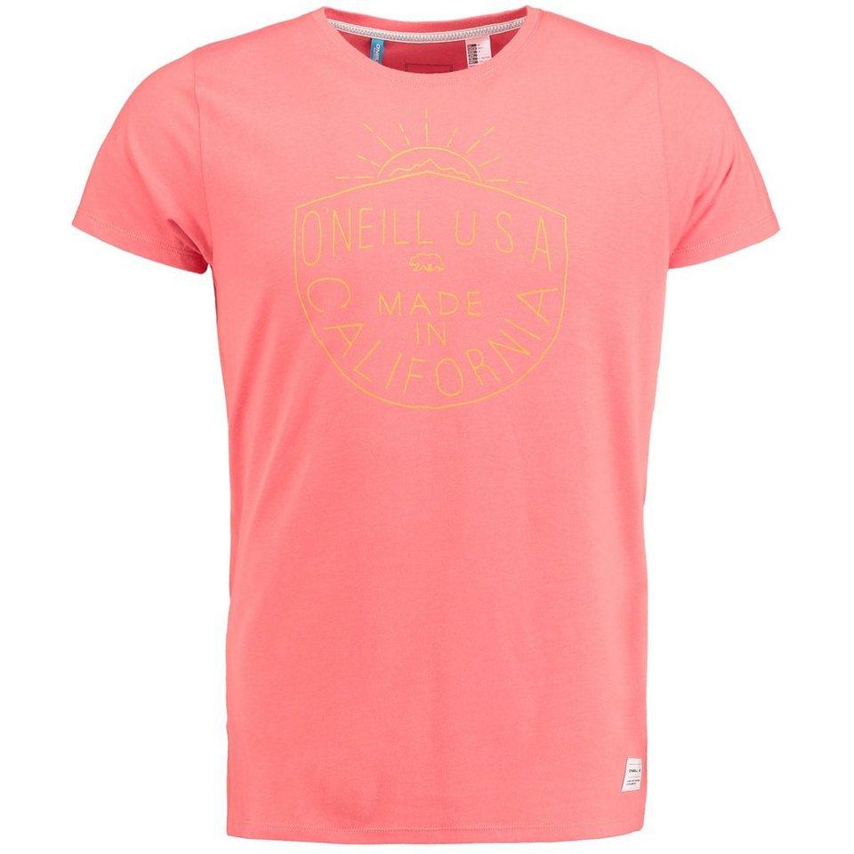O'Neill T-Shirt kurzärmlig »Odyssey« in Gebrannte Siena