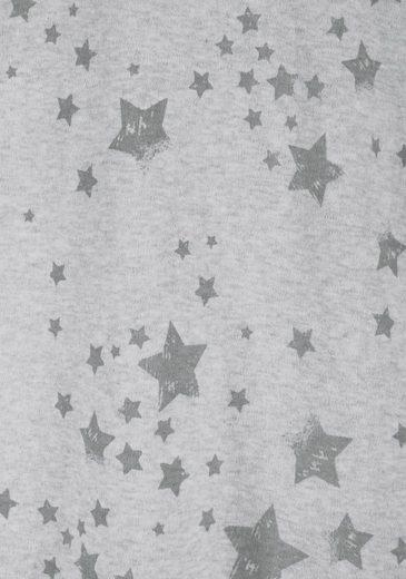 Bench. Homewear-Kleid im Sterndesign mit seitlichen Taschen