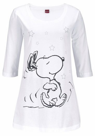 Peanuts Pajama With Leggings And A Casual Shirt With Snoopy Print