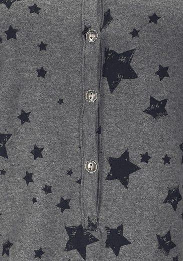 Bench. Homewear Jumpsuit mit Sternenprint
