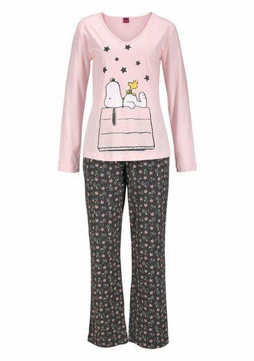 Peanuts Langer Pyjama im niedlichen Snoopy-Design