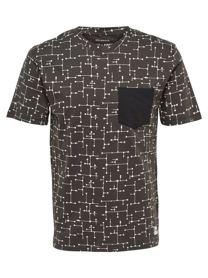 ONLY & SONS Bedrucktes T-Shirt in Raven