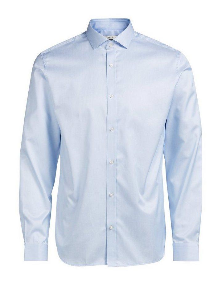 Jack & Jones Kentkragen- Businesshemd in Cashmere Blue