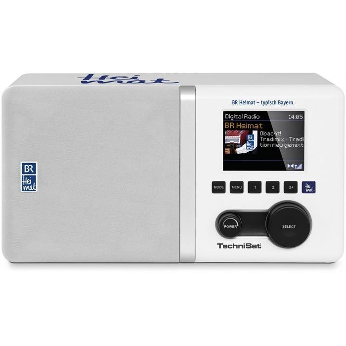 TechniSat DAB+ Digitalradio »DigitRadio 300 BR Heimat Edition« in weiß