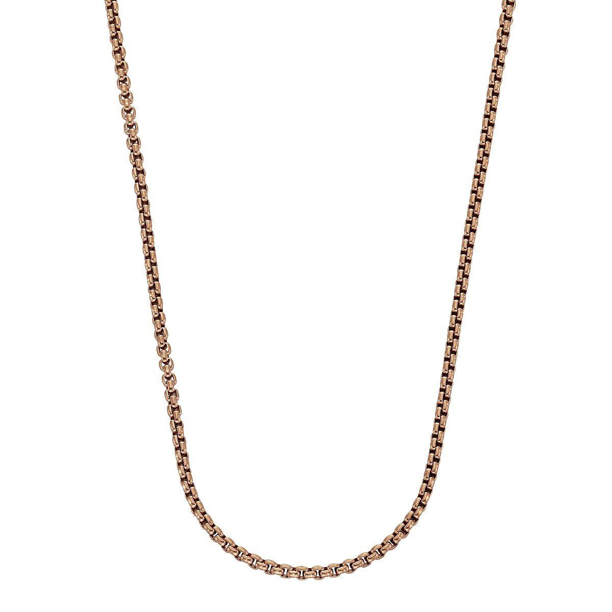 Zeeme Collier »Ankerkette Edelstahl rose 45+5cm«