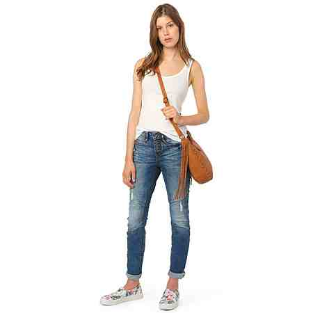 TOM TAILOR DENIM Jeans »Lynn middle blue«