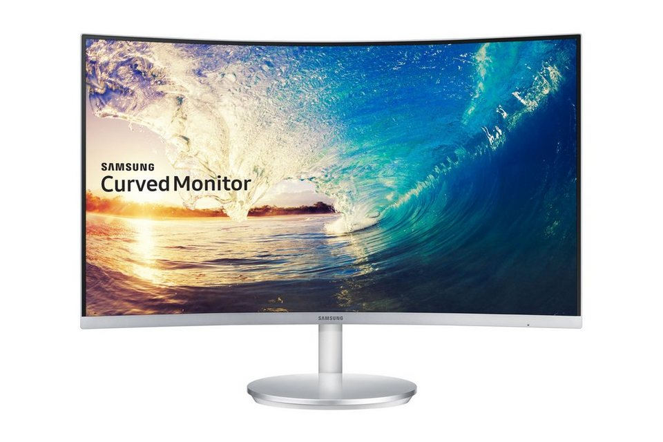 "Samsung C27F591FD »68,6cm (27"") Full HD Curved Display« in silber"