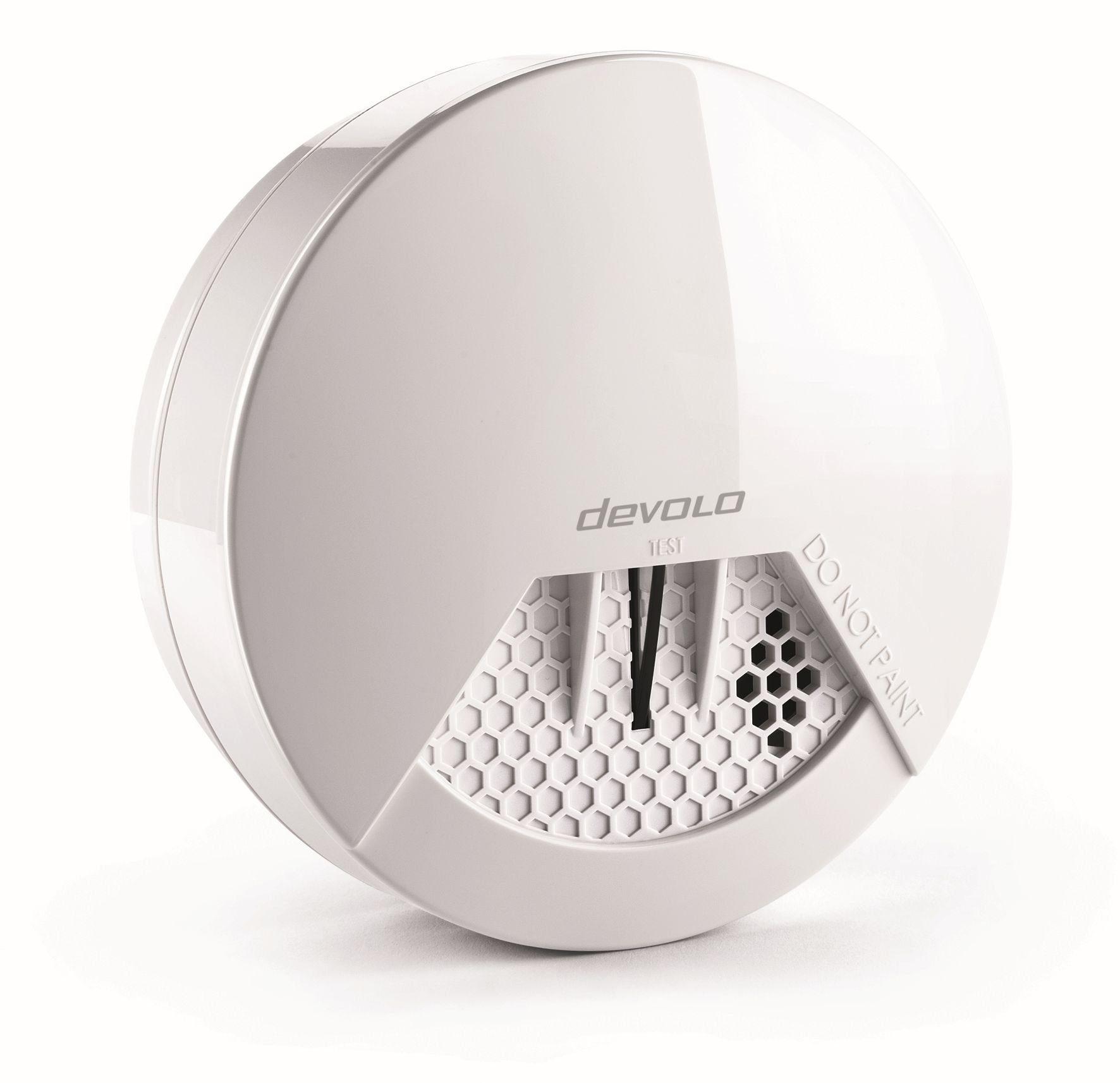 DEVOLO Smart Home Z-Wave »Home Control Rauchmelder, Sirene, DIN14604, Alarm«