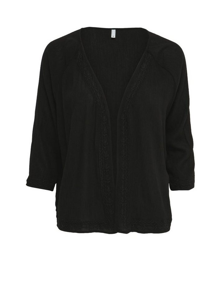 Only Lässiger Kimono in Black