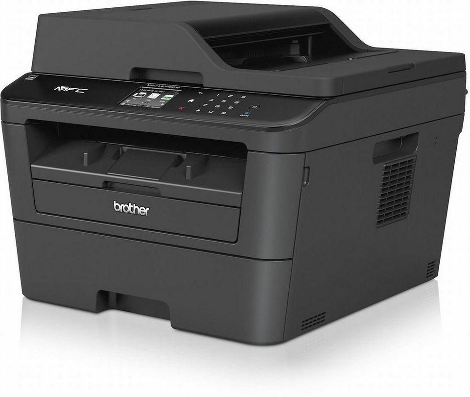 Brother Monolaser-Multifunktionsdrucker »MFC-L2740DW 4in1 Multifunktionsdrucker« in Schwarz