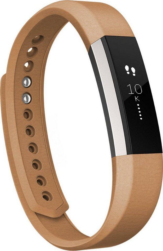 fitbit Ersatz-/Wechselarmband »Leder Armband für ALTA in Größe L« in Braun