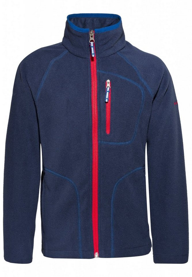 Columbia Pullover »Fast Trek II Full Zip Boys« in blau